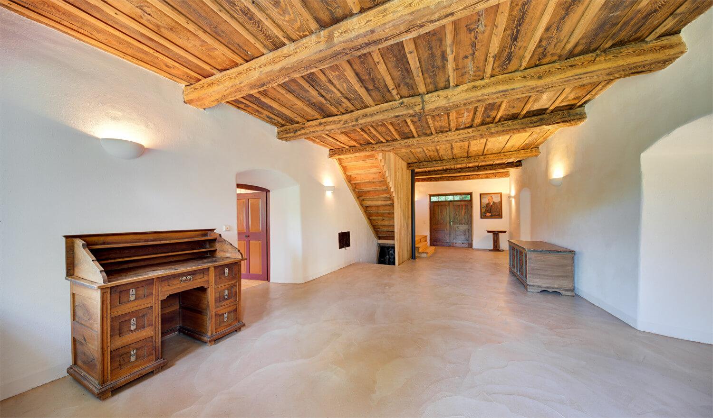Ferienhaus Maar1 am Goldberg - Eingangshalle, Labe, Zugang zum Outdoor-Equipment-Raum